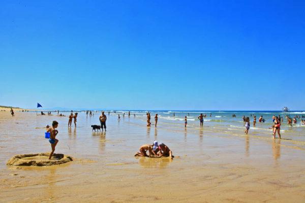 Messanges-plages surveillées dans les Landes