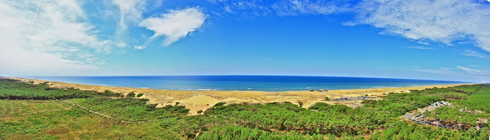 Messanges, océan de nature dans les Landes