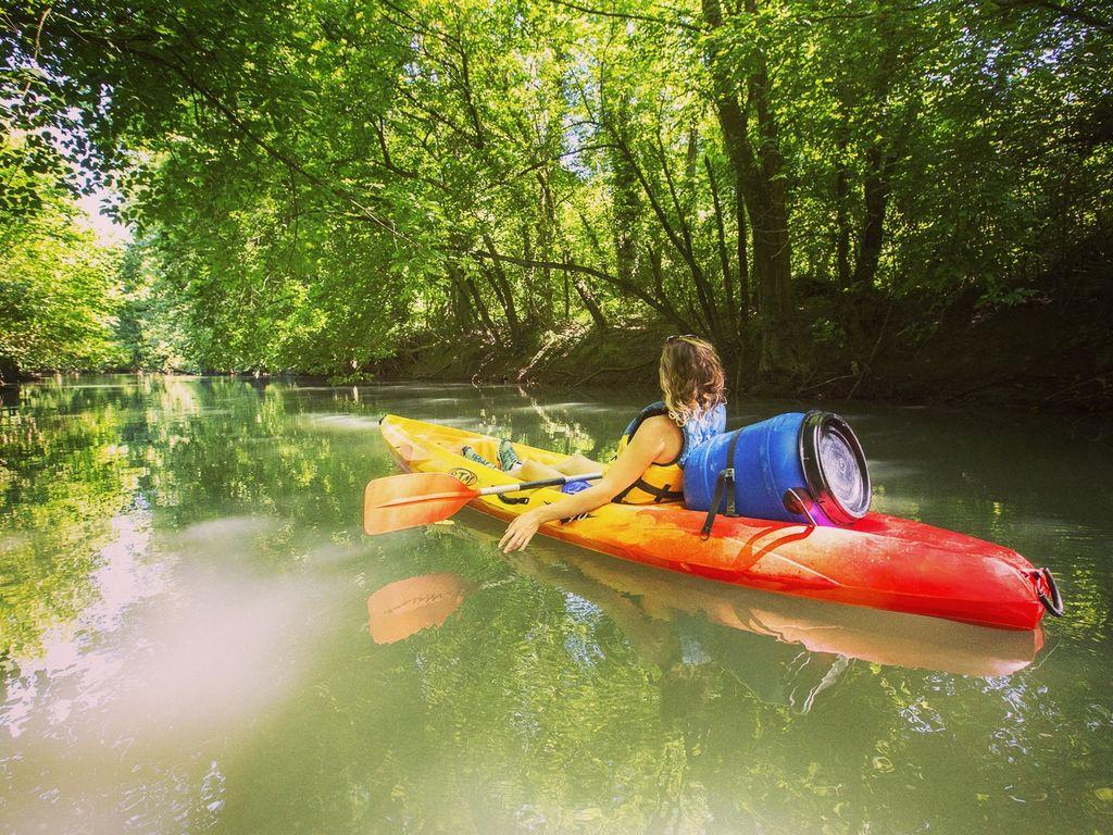 Canoe 2xaventures a sorde l'abbaye-landes