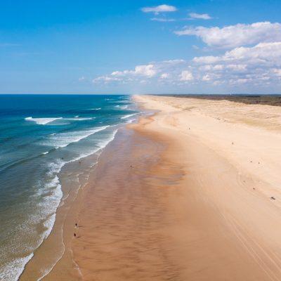Landes' south coast : The neverending beach